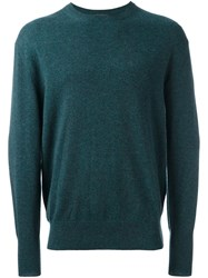 N.Peal 'The Oxford' Pullover Green