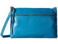 Hobo Hadlee Capri Cross Body Handbags Blue