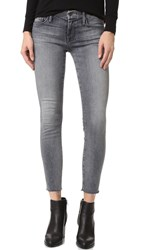 Mother Looker Ankle Fray Jeans Huntress