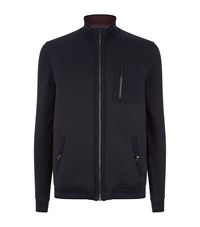 Ted Baker Stephan Zip Up Jumper Male Blue