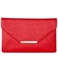 Styleandco. Style And Co. Lily Clutch Only At Macy's Chinese Red