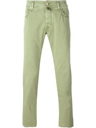 Jacob Cohen Slim Jeans Green