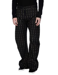 John Galliano Trousers Casual Trousers Men Black