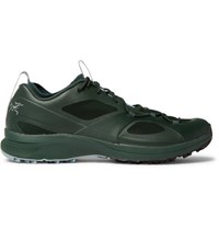 Arc'teryx Norvan Vt Rubber And Mesh Sneakers Green