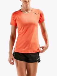 2Xu Ghst Short Sleeve Training T Shirt Sherbet