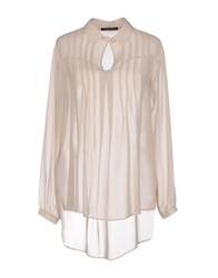 Giorgia And Johns Blouses Beige