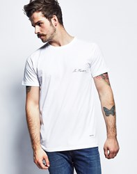 A Question Of Mr Handsome Crew Neck T Shirt White