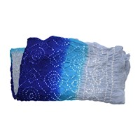 Omsutra Hand Knotted Tie Dye Silk Scarves