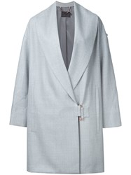 Ginger And Smart Conviction Coat Women Wool 8 Grey
