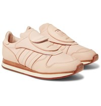 Adidas Consortium Hender Scheme Micropacker Panelled Leather Sneakers Blush