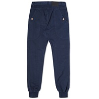 Bleu De Paname Drill Cotton Leisure Pant Blue