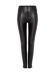 Biba Pu Stretch Legging Black