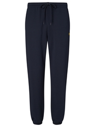 Lyle And Scott Cuffed Sweat Pants New Navy