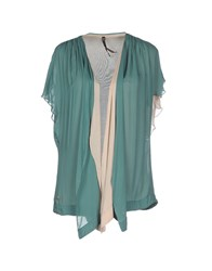 Manila Grace Knitwear Cardigans Women Green