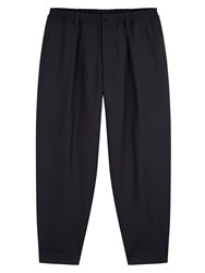 Marni Drawstring Wool Trousers Black