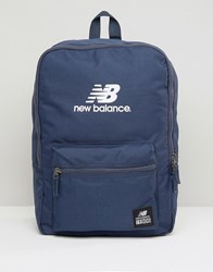 New Balance Booker Backpack In Blue Blue