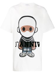 Ih Nom Uh Nit Logo Graphic Print T Shirt White