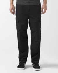 Carhartt Black Rinsed Columbia Cargo Trousers