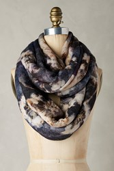 Anthropologie Luculia Infinity Scarf Navy