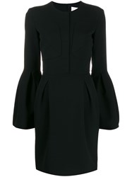 Genny Bell Sleeved Dress Black
