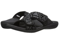 Spenco Kholo Tribal Slide Black Women's Slide Shoes