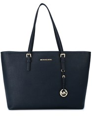 Michael Michael Kors Jet Set Travel Medium Tote Blue