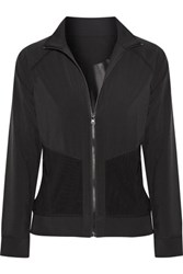 Purity Active Mesh Trimmed Stretch Jacket Black