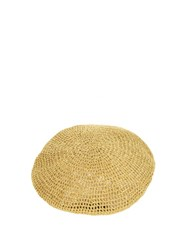 Gucci Metallic Knitted Beret Gold