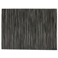 Chilewich Ribweave Rectangle Placemat Black