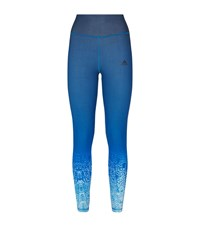 Adidas Miracle Sculpt Running Tights Female Blue