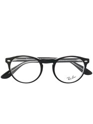 Ray Ban Round Shaped Glasses Black