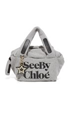 See By Chloe Joy Rider Bag Grey Melange