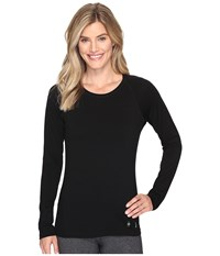 Smartwool Merino 150 Baselayer Long Sleeve Black Women's Clothing