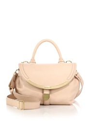 See By Chlo Lizzie Small Satchel Nude
