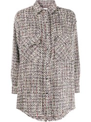 Iro Oversized Tweed Shirt 60