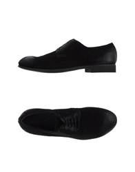 Raparo Lace Up Shoes Black