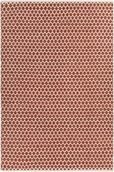 Chandra Costa Rectangular Hand Woven Contemporary Area Rug Brown