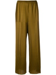 Simon Miller Norge Trousers Women Polyester Triacetate 1 Brown