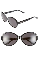 Bcbgmaxazria Bcbg 'Sweetheart' 60Mm Sunglasses Black