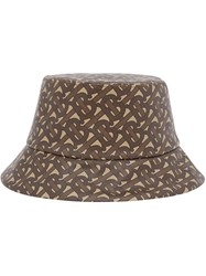 Burberry Monogram Print Bucket Hat 60