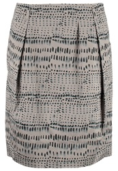 Marc O'polo Pencil Skirt Grey