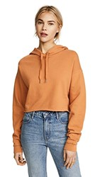 Joe's Jeans X Taylor Hill Cropped Hoodie Tumeric