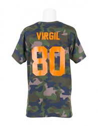 Les Artists T Shirt Virgil 80 Football Camouflage