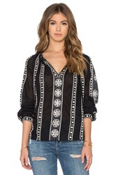 Maison Scotch Embellished Blouse Black