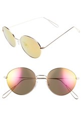 Women's Bp. 50Mm Metal Round Sunglasses