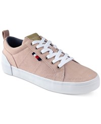 Tommy Hilfiger Women's Priss Lace Up Sneakers Women's Shoes Light Pink