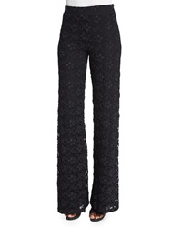 Nightcap Clothing Dixie Lace High Waist Trousers Black