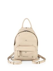 Givenchy Nano Cross Studded Leather Backpack Nude