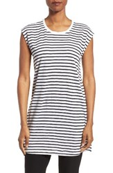 Eileen Fisher Women's Stripe Linen Knit Tunic