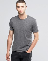 Sisley Crew Neck T Shirt Grey Marl 572